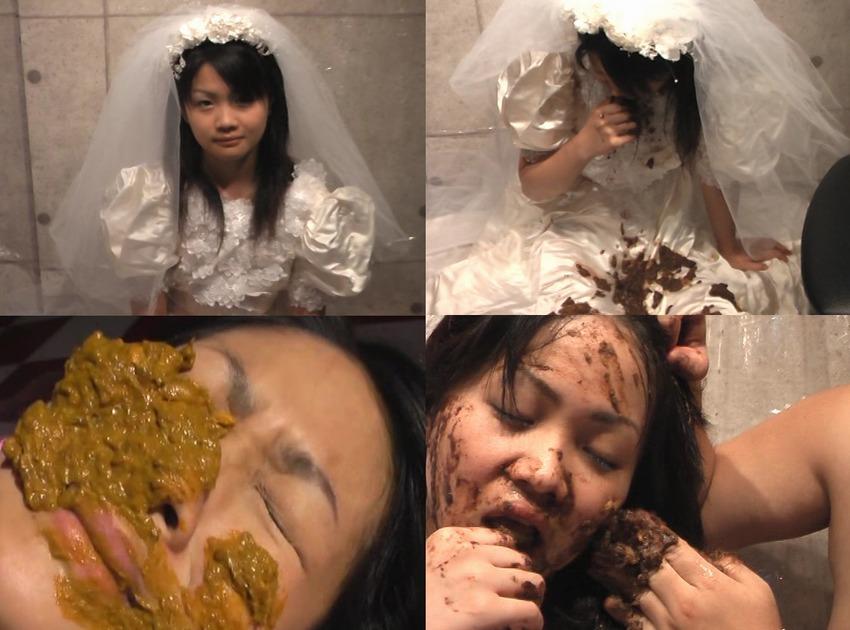 ロリ系美少女の便秘ウンチは前代未聞の強烈悪臭便!涙で溢れる糞化粧~極悪非道な着衣スカトロマニアの拷問リクエストに応え、純白ドレスが糞色に染まる 日向まひる