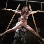 残虐な拷問虐待スカトロSM調教!緊縛蝋責め蟹股開脚浣腸される被虐女